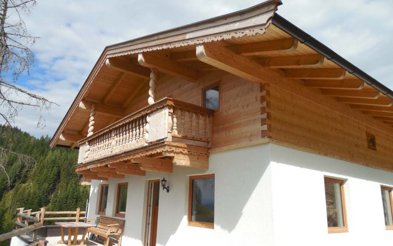 Neubau Luxusberghütte in atemberaubender sonniger Alleinlage -  Nähe Walchsee - vermietet
