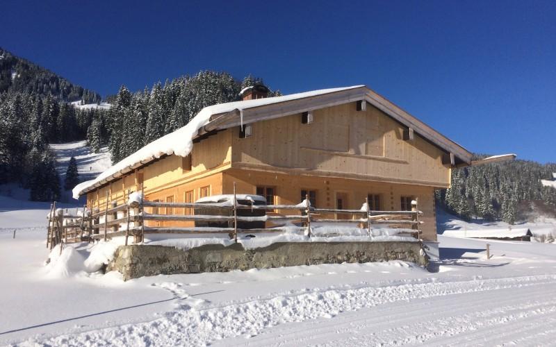 Berghütte mieten in wunderschöner Lage im Skigebiet mit gemeinsamer Nutzung -Schliersee/Spitzingsee